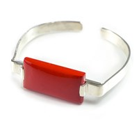 Cats And Ghosts Emic Bracelet Red Coral