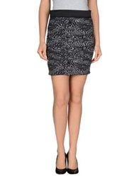 Numph Mini Skirts Black