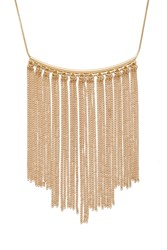 Forever 21 Chain Fringe Necklace