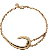 Shaun Leane Sterling Silver And Rose Gold Plate Hook Bracelet