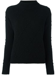 Zanone High Neck Jumper Black