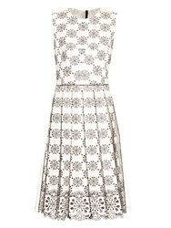 Marc Jacobs Broderie Anglaise Pleated Dress