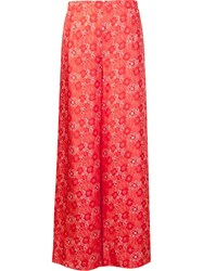 Creatures Of The Wind High Waisted Palazzo Pants Red