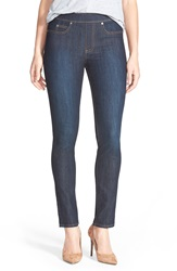 Vince Camuto Stretch Denim Leggings Dark Rinse