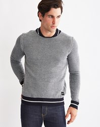 Only And Sons Mens Knitted Jumper Navy