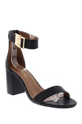 Liliana Gilberta Heeled Sandal Black