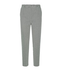 Escada Talarant Chevron Trousers Female Black