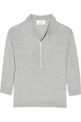 Allude Wool Top Gray