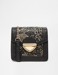 Lipsy Tapered Lace Cross Body Bag Multi