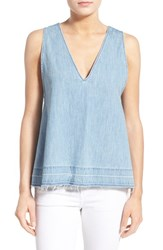 Rag And Bone Women's Rag And Bone Jean Drapey Denim Tank Kenton