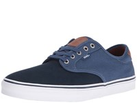 Vans Chima Pro Two Tone Dress Blues Ensign Blue Men's Skate Shoes