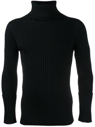 Valentino Roll Neck Jumper Black