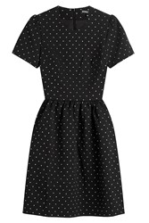 Markus Lupfer Printed Dress Black