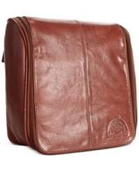 Dopp Carson Collection Hanging Travel Kit Brown