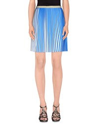 Numph Numph Skirts Knee Length Skirts Women Blue