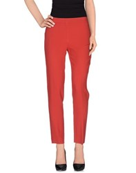 P.A.R.O.S.H. Trousers Casual Trousers Women Brick Red