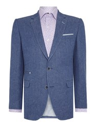 Magee Tweed Jacket Royal Blue
