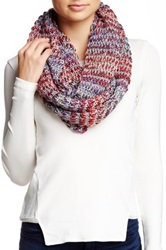 Michael Stars Shimmer Ombre Infinity Scarf Multi
