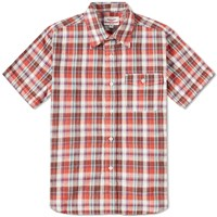 Battenwear Short Sleeve Weekend Shirt Red