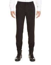 Kenneth Cole Elastic Hem Pants Black