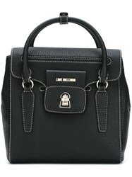 Love Moschino Keyhole Detail Backpack Black