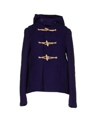 Harnold Brook Coats And Jackets Coats Women Purple