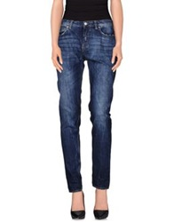 Department 5 Denim Pants Blue