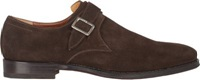 Battistoni Monk Strap Shoes Brown