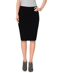 Emilio Pucci Knee Length Skirts Black
