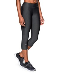 Under Armour Heat Gear Anti Microbial Capri Pants Charcoal
