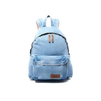 Eastpak Padded Pak'r Kuroki Denim Limited Edition Backpack Bleach Wash