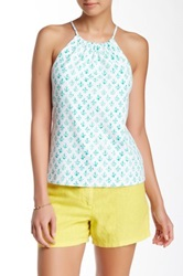 J. Mclaughlin Maria Halter Top Blue