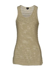 Snobby Sheep Knitwear Sleeveless Jumpers Women Sand
