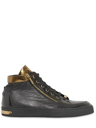 Botticelli Sport Limited Botticelli Limited Embossed Leather High Top Sneakers
