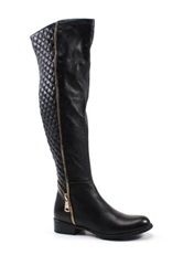 Diba Join Us Over The Knee Boot Black