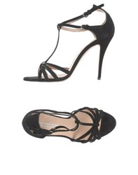 Pura Lopez Footwear Sandals Women Black