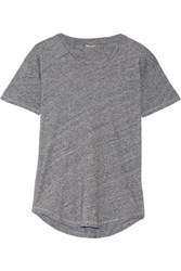 Madewell Whisper Cotton Jersey T Shirt Gray