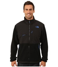 The North Face Denali Jacket Recycled Tnf Black Monster Blue Men's Coat