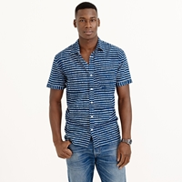 J.Crew Industry Of All Nationstm Madras Batik Stripe Shirt