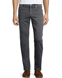 True Religion Geno Over Dye Twill Jeans Gray