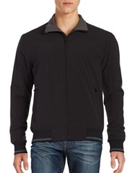 Weatherproof Ultra Stretch Fleece Lined Bomber Black