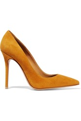 Acne Studios Alivia Suede Pumps Yellow