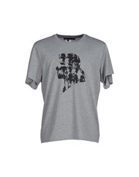 Karl By Karl Lagerfeld Topwear T Shirts Men Grey