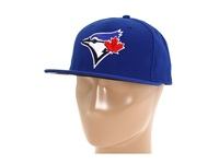 New Era Authentic Collection 59Fifty Toronto Blue Jays Game Baseball Caps Black
