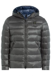 Blauer Down Jacket With Hood Blue