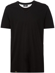 Hoorsenbuhs V Neck T Shirt Black