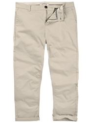 Fat Face Modern Cropped Chinos Pebble