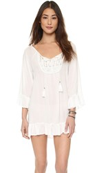 Tiare Hawaii Cabana Tunic Off White