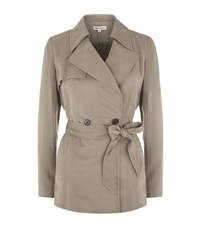 Reiss Radel Cropped Trench Coat