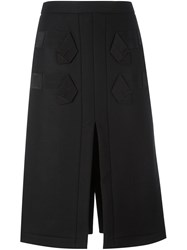 N 21 No21 Midi Skirt Black